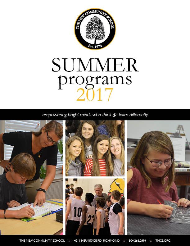 Summer Programs 2017